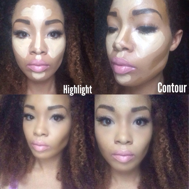 Quickie: Liquid Highlight & Contour with drugstore products