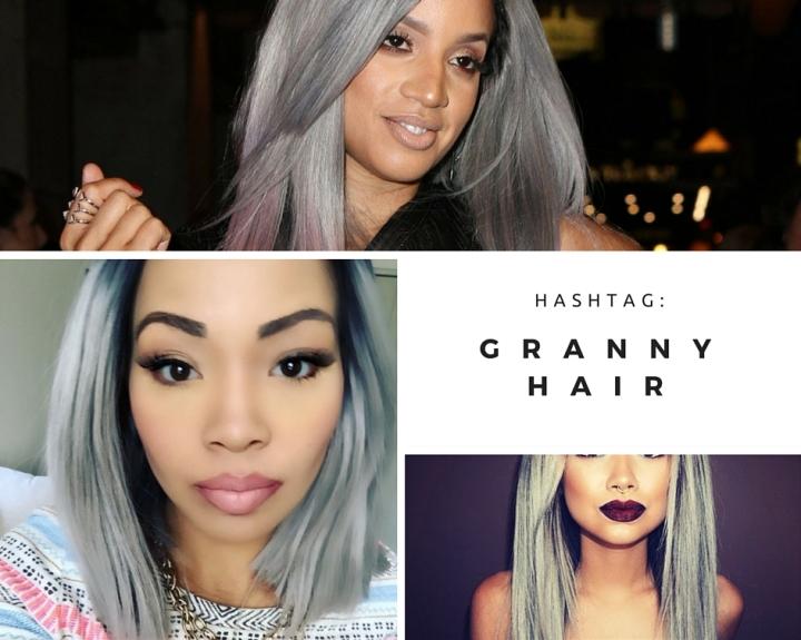 Hashtag: Granny Hair
